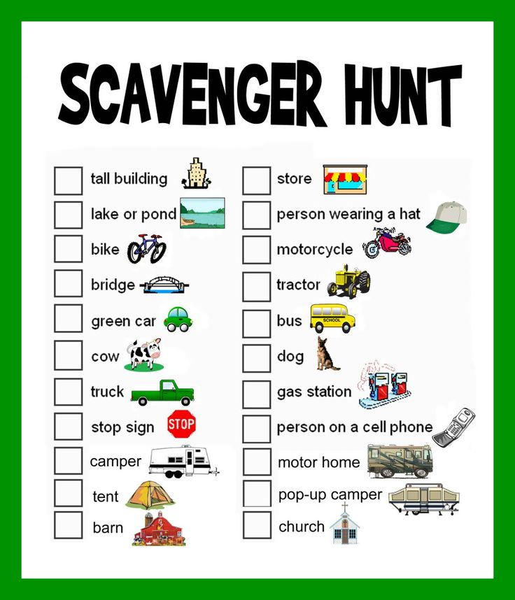 Many of you have probably participated in a scavenger hunt at some point - perhaps in a youth group or at a summer camp. The basic idea is that groups of people are given a list of obscure items an...
