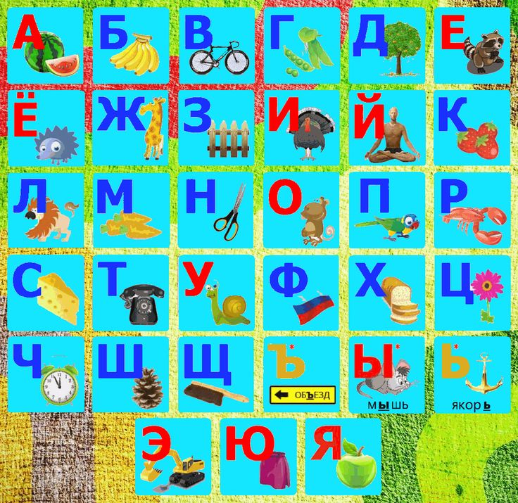 ЯЗЫК И ЛИТЕРАТУРА: Русский алфавит
