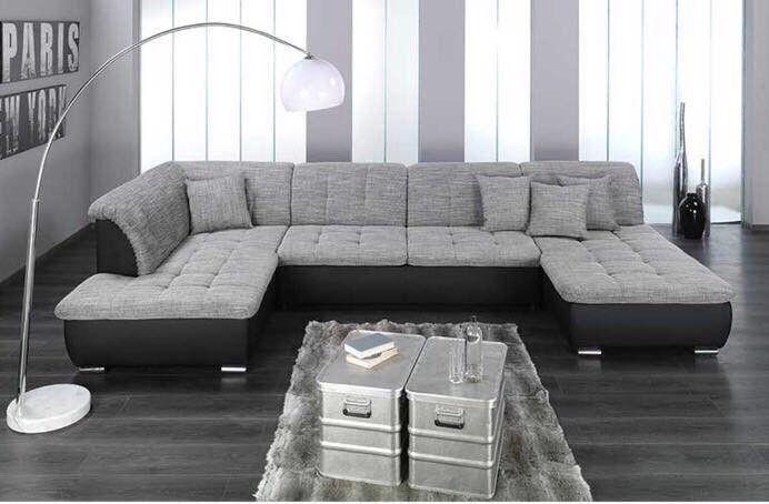Xxl Wohnlandschaft Couch Mobel Ecksofas Moderne Couch
