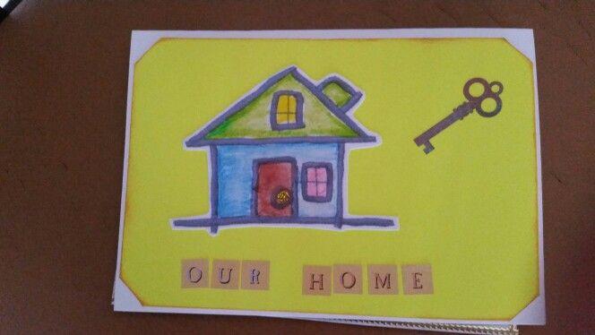 House warming card.