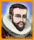 Henry Hudson (1565-1611) was an English explorer and navigator who explored parts of the Arctic Ocean and northeastern North America. The Hudson River, Hudson Strait, and Hudson Bay are named for Hudson.
