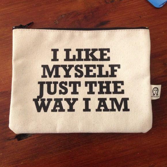 Clutches & Wallets - I Like Myself Just The Way I Am on Poshmark