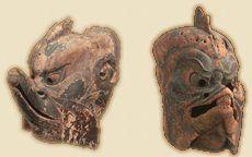 Vietnamese Masks | Karura - Man-bird Deity in Japanese Buddhism