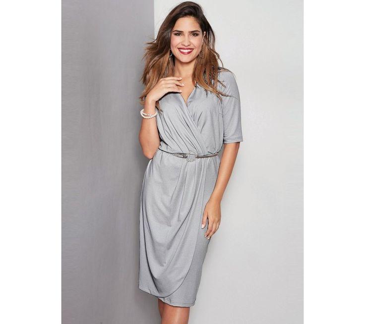 Večerní šaty s překřížením | modino.cz #ModinoCZ #modino_cz #modino_style #style #fashion #dress