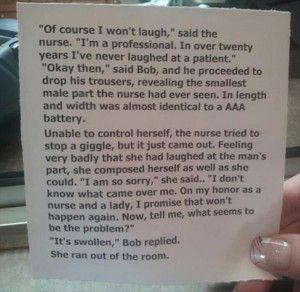 funny nurse jokes