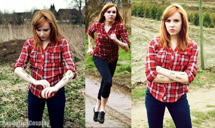 Amy Pond Cosplay with Silence Tally Marks