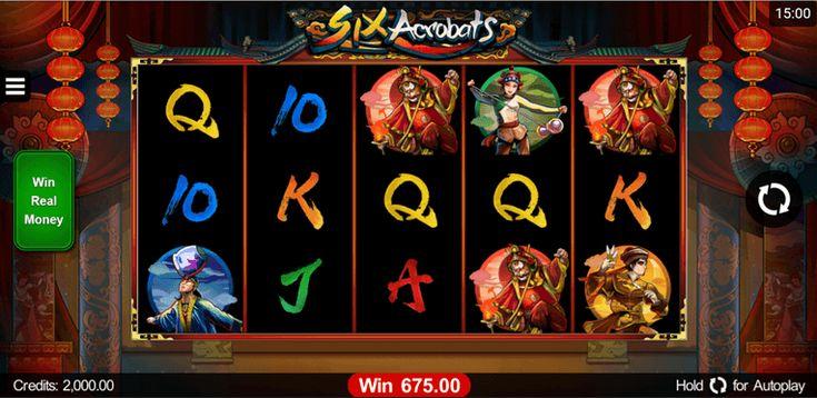 Six Acrobats vom Microgaming kommt im Spielautomaten-Test über eine 70% Wertung nicht hinaus. Warum? Hier lesen: