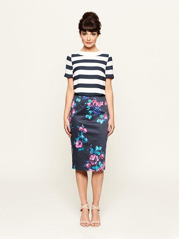 Loving this!! Montpellier Skirt w LaRue top.