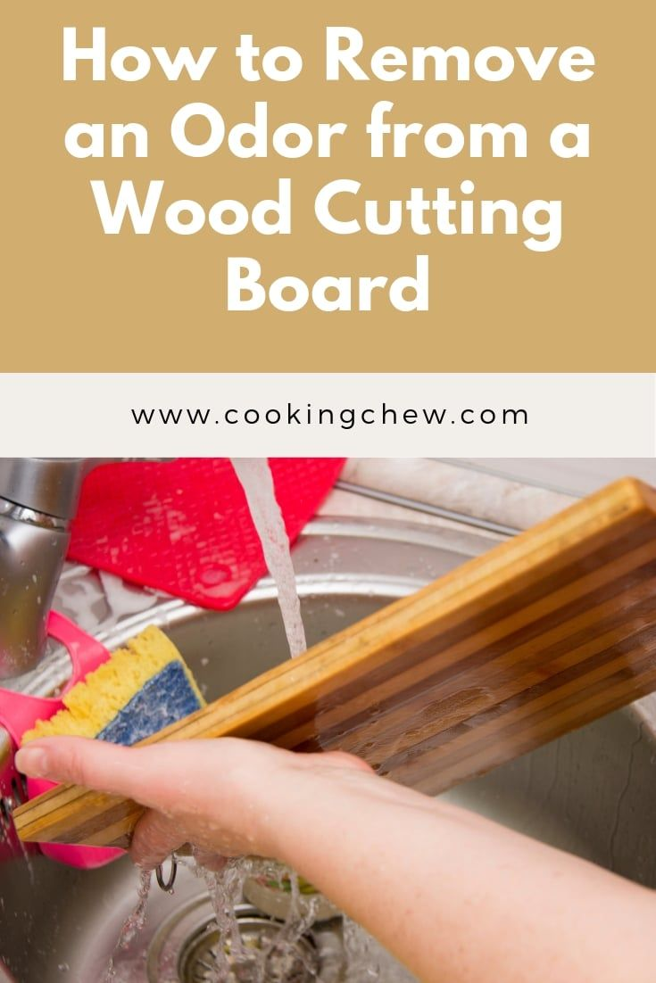 The Best Way To Clean A Wood Cutting Board Cooking Tips Wooden