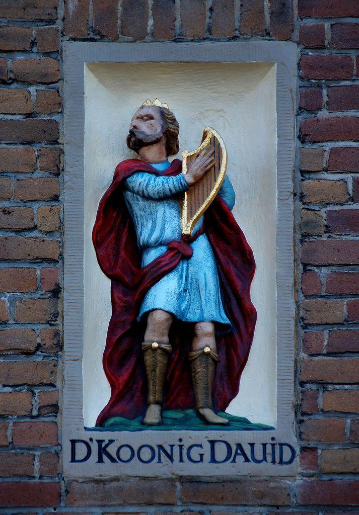 Nieuwe Batavierstraat, zijgevel van schoolgebouw.Oude Schans (zonder nummering), Amsterdam