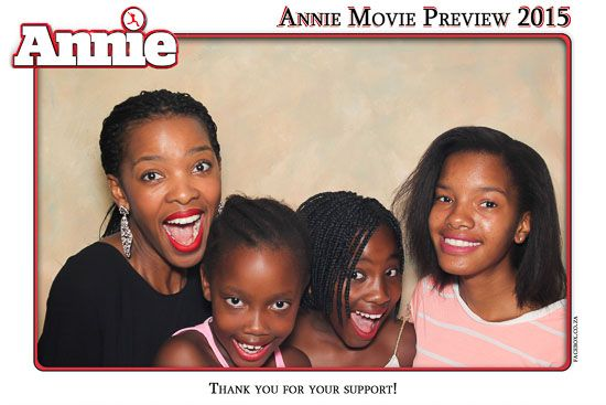 Gallery Annie Movie Preview - 25 January 2015 - Photo Booth   Face-Box
