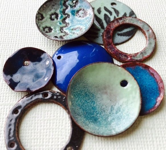 Torch fired enameling: an overview with hints and tips! by Rings & Things