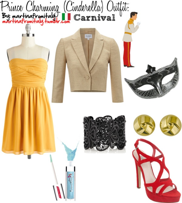 """""""Prince Charming (Cinderella) Carnival Outfit:"""" by martinafromitaly ❤ liked on Polyvore"""