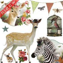 Kinderkamer muurstickers | Kinderkamer en Babykamer Tips & Ideeen