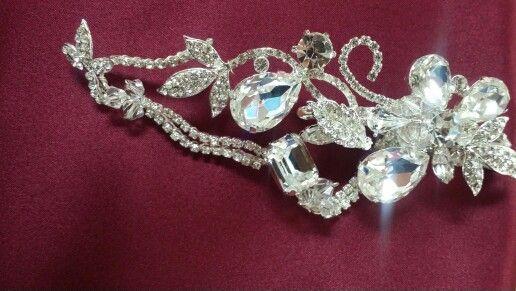 Jeweled hairpiece.  Sale $60.00