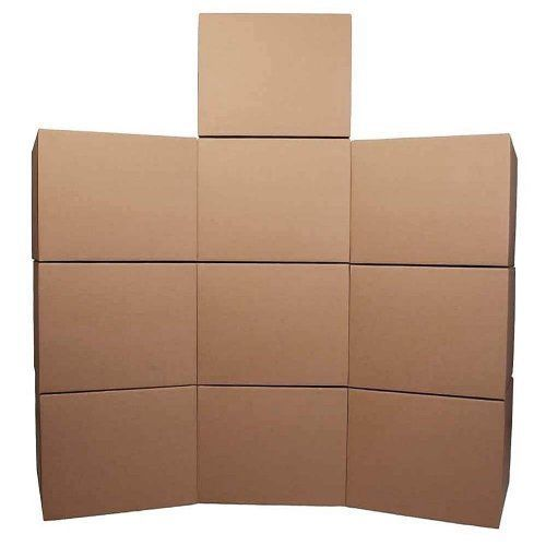 Cheap Cheap Moving Boxes Medium Moving Boxes 10-Pack & Roll Of Tape Made in USA #CheapCheapMovingBoxes
