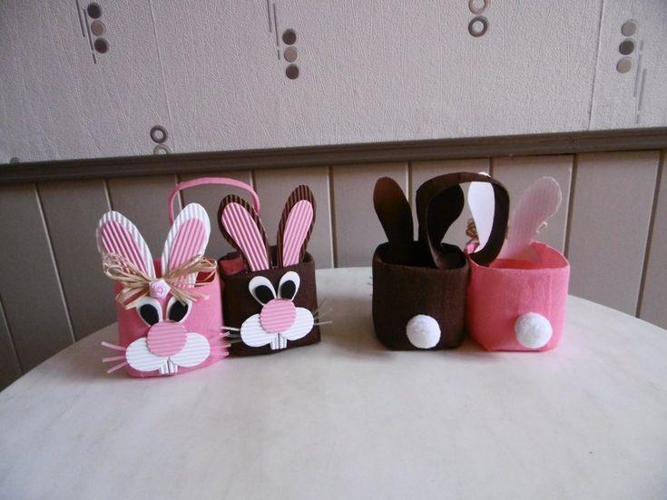 Panier de Pâques lapins                                                       …