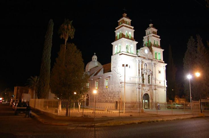 St Jerome Catholic Church in Aldama Chihuahua, Mexico