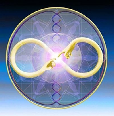 """Die Religion, die Philosophie und Wissenschaft unserer Zeit beruht im Grunde auf den sieben kosmischen Gesetzen des Thot, der ägyptische Gott der Weisheit = Hermes Trismegistos, """"der dreimal …"""