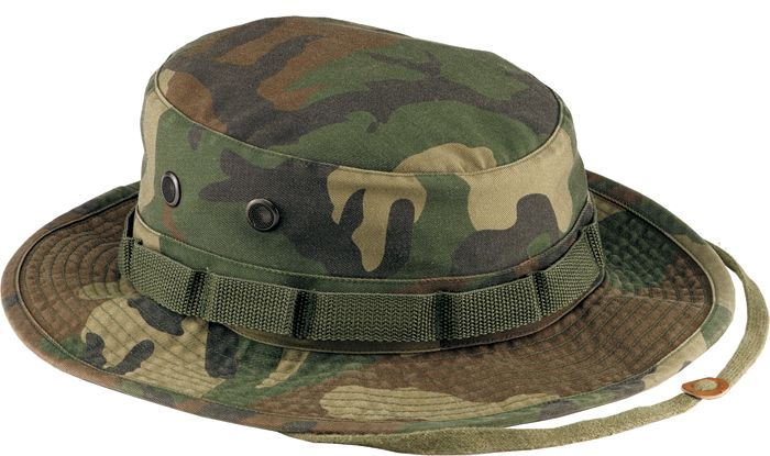 Woodland Camo Vintage Boonie Hat-This Vintage Boonie Hat features the same  great features as 706e7f9e3247