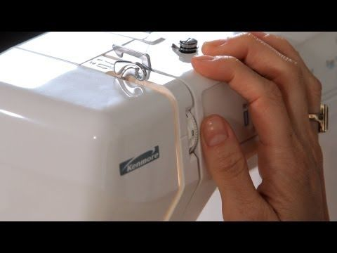 How To Thread A Sewing MachineKenmore Model No 4040 Series Impressive How To Thread Kenmore Sewing Machine 385