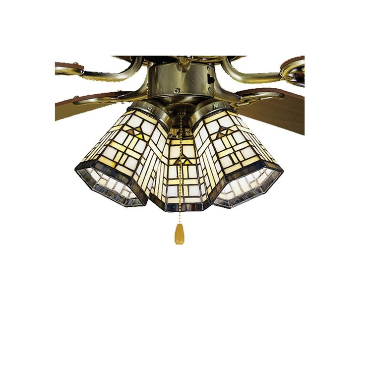 Best 41 Stained Glass Ceiling Fan Ideas On Pinterest