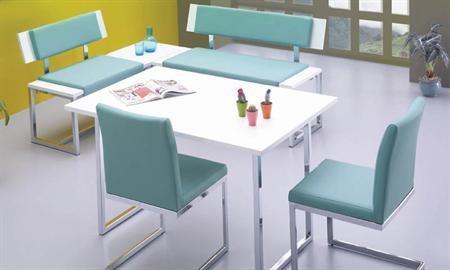 -İmge mutfak masası takımı içerisindeki parçalar: İmge 120'lik back bank, İmge 85'lik back bank, Vista 2 adet sandalye, İmge köşe sehpa, İmge 80*120'lik masadan bir araya gelmiştir.  -Takım içerisindeki back banklar krom kaplama ayak kalitesinde üretilmiştir. Back bankların oturma alanları süngerdir ve üst deri kaplamaları uzun ömürlüdür. Yeni takımlardan bir tanesi olan İmge mutfak masası dayanıklı ve sağlam modellerden bir tanesidir.