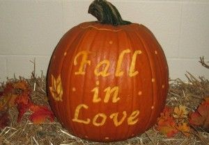 OMG HAILEY. WE SHOULD CARVE PUMPKINS!!!!!!! :)  How to host a Halloween bridal shower