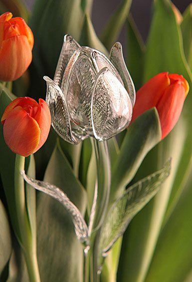 Waterford Fleurology Crystal Flowers ~ Tulip