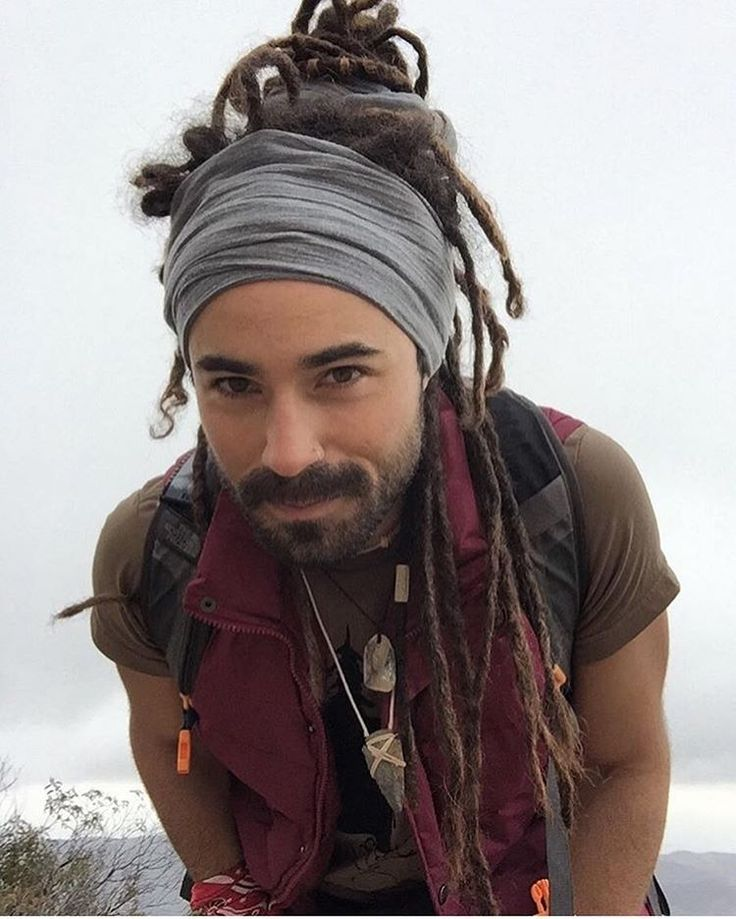 Men with Dreads - Dreadlock Headband   Head Wrap  5e879e4d591