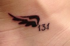 Half+Marathon+Tattoos | Half Marathon Tattoo, so getting this if I complete a half marathon!