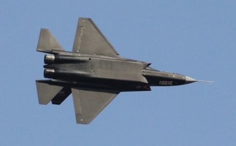 New Chinese J-31 stealth fighter spotted in Zhuhai ahead of air show | South China Morning Post