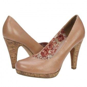 Pantofi casual dama Marco Tozzi rose antic
