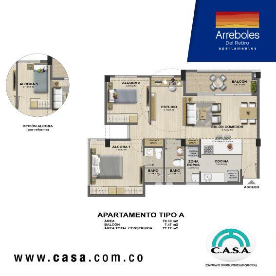 Vive en #arrebolesdelretiro, nuevo proyecto con 6 Torres de apartamentos, 4 pisos de altura, parqueaderos en semisótanos, entre otros espacios diseñados para tu bienestar. #apartamentosnuevos #exclusivo
