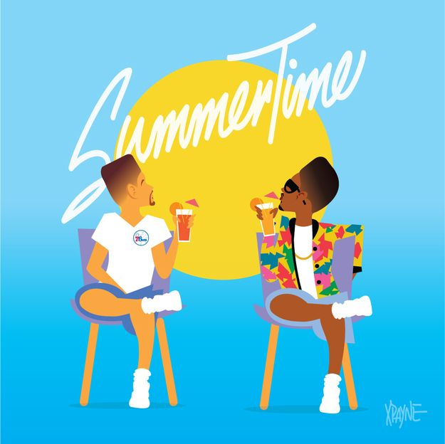 "Will Smith and DJ Jazzy Jeff - ""Summertime"" 