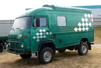AVIA | Staré náklaďáky