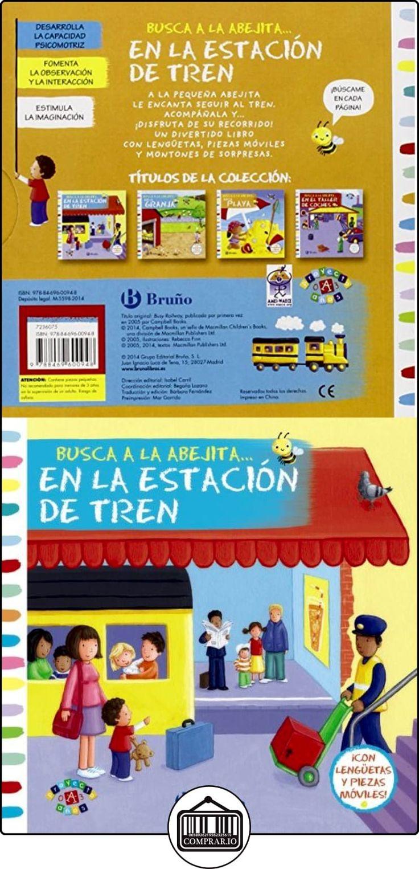 Busca A La Abejita... En La Estación De Tren (Castellano - A Partir De 0 Años - Proyecto De 0 A 3 Años - Libros Manipulativos) Macmillan Publishers ✿ Libros infantiles y juveniles - (De 0 a 3 años) ✿