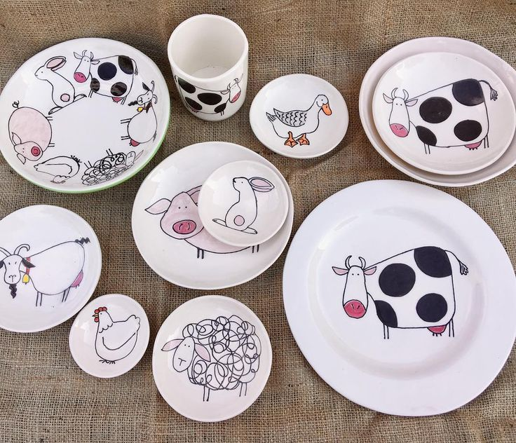 Farmyard hand #handmadegifts #handmade #ceramics #pottery #ceramic #etsy