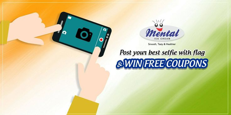 Celebrate this Republic Day with Mental and  Post your best selfie with flag.  Top ten contestants will win free coupons. So cross your fingers and try your luck hard. All the best!!! Post your selfies in our comments box with hashtag
