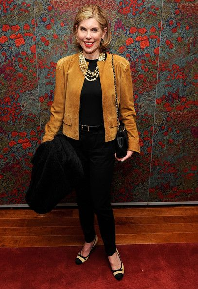 """Christine Baranski Photos: Broadway Opening Of """"All About Me"""" - After Party"""
