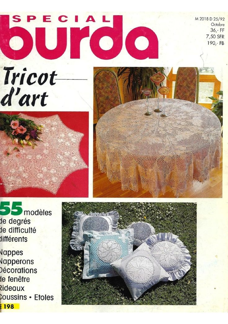BURDA SPECIAL - TRICOT D'ART