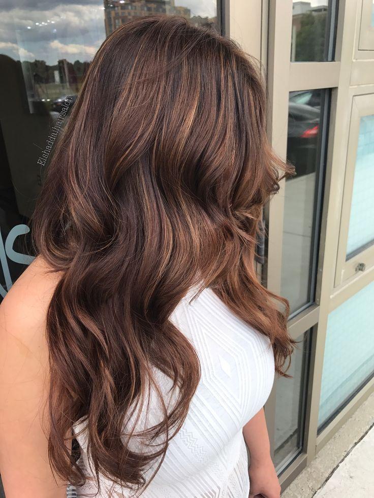 Hazelnut mocha hair color Mocha hair, Mocha brown hair