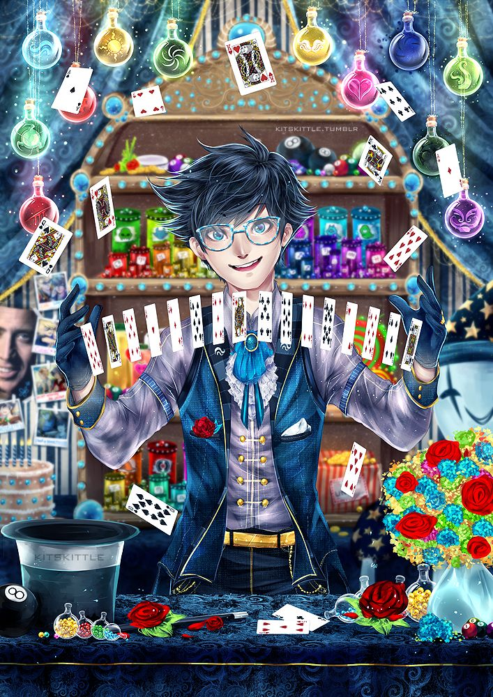 John Egbert by mariyei on deviantART (always forget, he loves magic even though he's not very good at it and can play the piano)