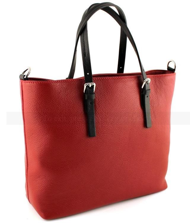 Palermo Red with Brown handles.