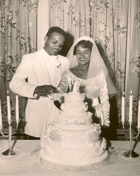 Newlyweds Jean And Richard Find This Pin And More On African American Vintage Weddings