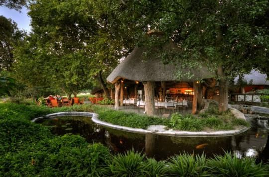 The Thamalakane River Lodge (Maun, Botswana)