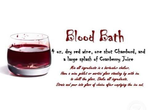 True Blood Party Blood Bath