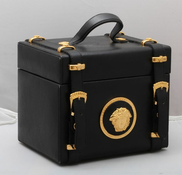 GIANNI VERSACE COUTURE MEDUSA VANITY BAG   From a collection of rare vintage handbags and purses at http://www.1stdibs.com/fashion/accessories/handbags-purses/