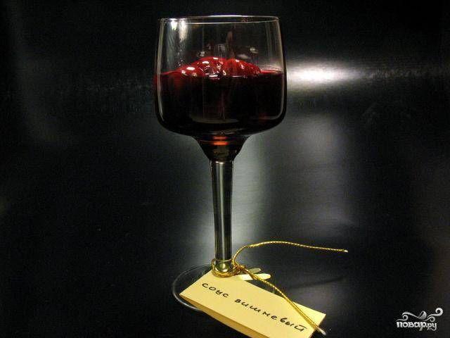 Вишневый соус - пошаговый рецепт с фото на Повар.ру