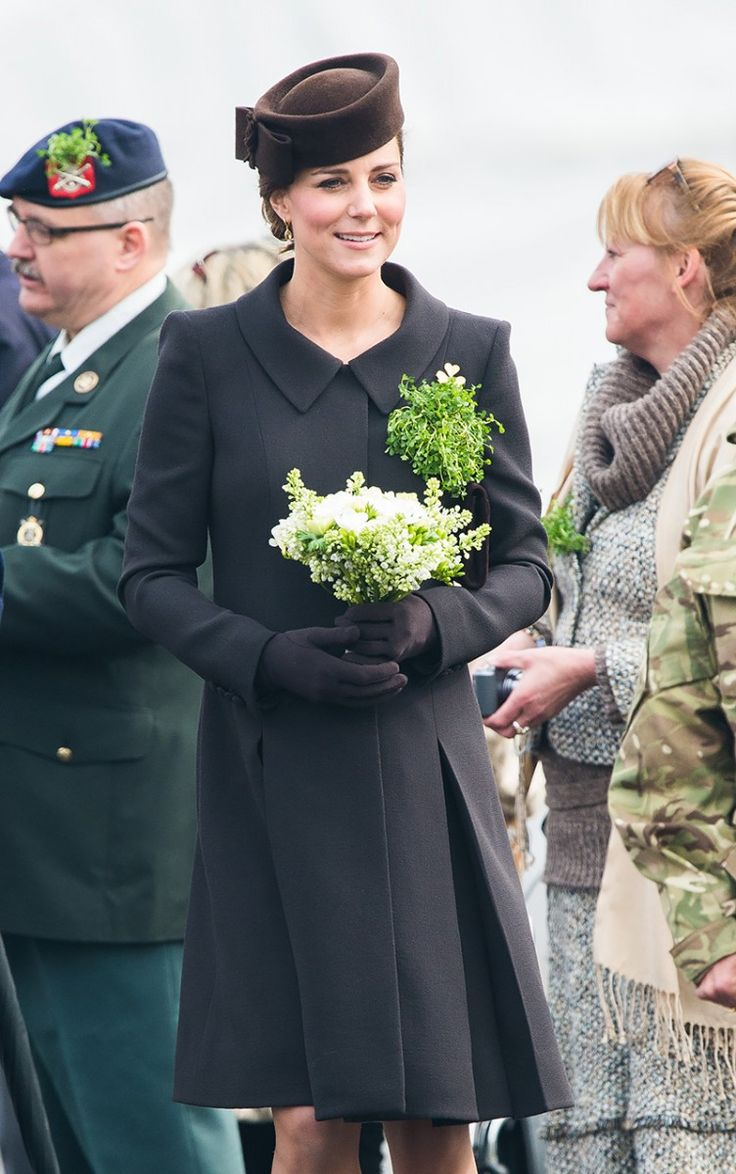 Kate Middleton breaks tradition and wears a brown